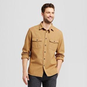 Goodfellow & Co. Size XXL Golden Button Up Shirt